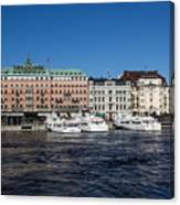 Grand Hotel Stockholm Canvas Print