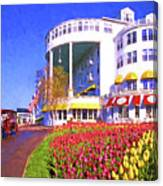 Grand Hotel Tulips Canvas Print