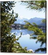 Grand Lake Co Mt Baldy Spring II Canvas Print