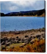 Grand Mesa Lake Canvas Print
