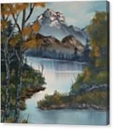 Grand Mountain Canvas Print