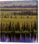 Grand Mountain Reflections Canvas Print