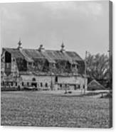 Grand Old Barn Canvas Print