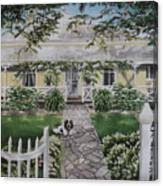 Grand Old Home Canvas Print