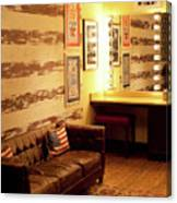 Grand Ole Opry House Backstage Dressing Room #5 In Nashville, Tennessee. Canvas Print