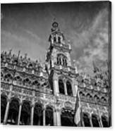 Grand Place Architecture Brussels  Canvas Print