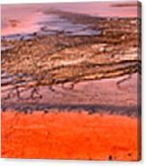 Grand Prismatic Algae Mat Panorama Canvas Print