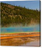 Grand Prismatic Pool Canvas Print