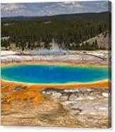 Grand Prismatic Spring Canvas Print