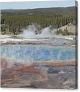 Grand Prismatic Spring, Midway Geyser Canvas Print