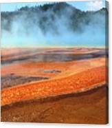 Grand Prismatic Spring, Yellowstone Canvas Print