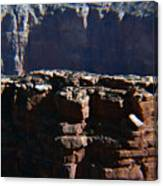 Grand Rock Canvas Print