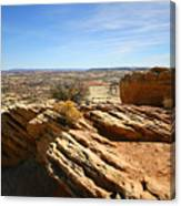 Grand Staircase Escalante National Monument Canvas Print