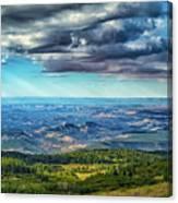 Grand Staircase - Escalante National Monument Canvas Print