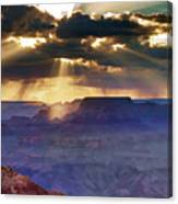 Grand Sunlight Canvas Print