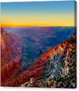 Grand Sunset Canvas Print