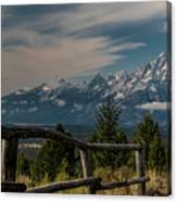 Grand Teton Signal Mountain Canvas Print