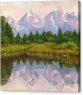 Grand Tetons Canvas Print