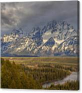Grand Tetons Snake River Canvas Print