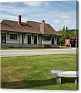 Grand Trunk Railroad - Gorham New Hampshire Canvas Print