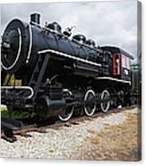 Grand Trunk Railroad - Gorham New Hampshire Usa Canvas Print