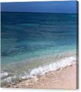 Grand Turk Ocean Beauty Canvas Print