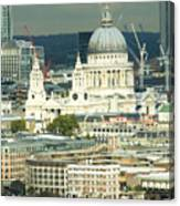 Grand View Of Central London Canvas Print