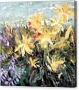 Grandma's Garden Canvas Print
