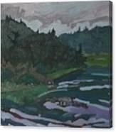 Grande Chute Portage Canvas Print
