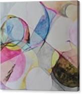 Grande' Circles Canvas Print