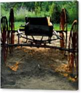 Grandfathers Buggy Canvas Print