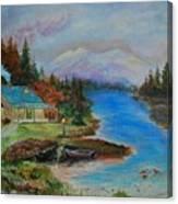 Grandmas Cabin Canvas Print