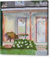 Grandma's Front Porch Canvas Print