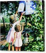Grandmas Letter Canvas Print