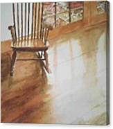 Grandma's Rocker Canvas Print