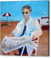 Grandmom Kelly Canvas Print