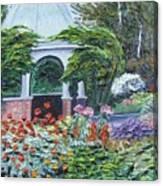 Grandmother's Garden Flowers Canvas Print