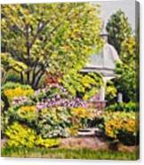 Grandmother's Garden Canvas Print