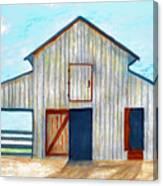 Grandpa's Barn Canvas Print