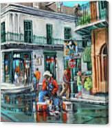 Grandpas Corner Canvas Print
