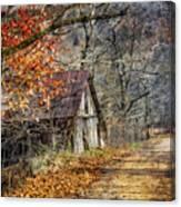 Grandpa's Old Barn Canvas Print