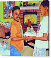 Grandpas Surprise Canvas Print