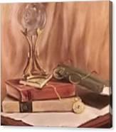 Grannie's Locket Canvas Print