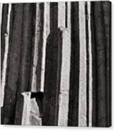 Granite Columns Canvas Print