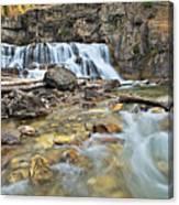 Granite Falls Canvas Print