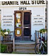 Granite Hall Store  Canvas Print