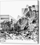 Granite Steps Eagle Lake Sequoia National Park California 2012 Canvas Print