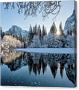 Granite Sunrise Canvas Print