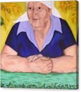 Granny Katiya Canvas Print