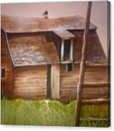 Granny's Barn Canvas Print